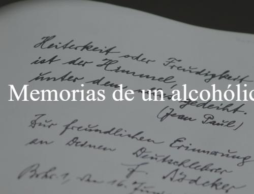 Memorias de un alcohólico