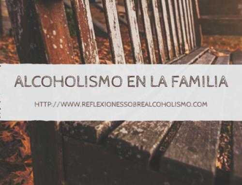 EL ALCOHOLISMO EN LA FAMILIA